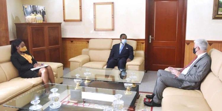 El Primer Ministro conversa con el nuevo Encargado de Negocios de la Embajada de Portugal en Malabo
