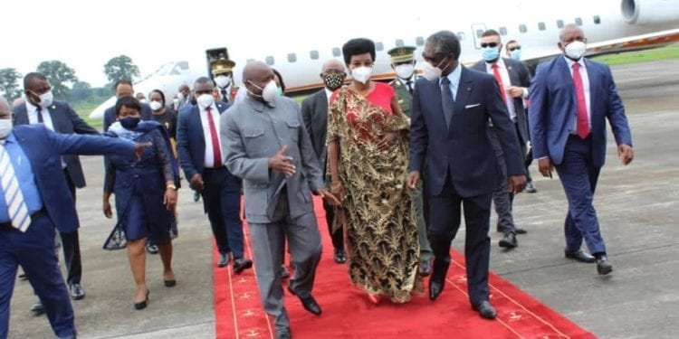 El Presidente de Burundi efectúa una visita de Estado de seis días a Guinea Ecuatorial.
