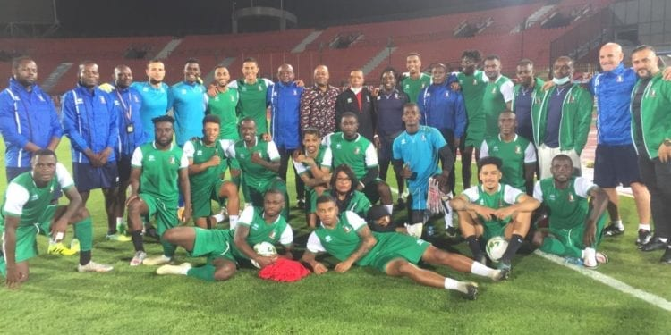 Alineación de Guinea Ecuatorial para el partido de ida contra Libia