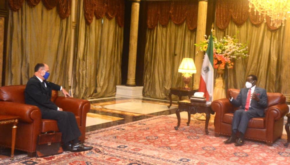 Obiang concede audiencias a los embajadores de China, EE.UU y Francia