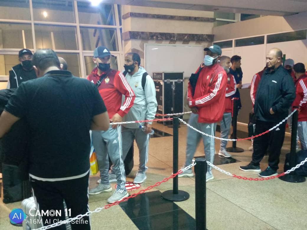 Libia ya esta en Malabo para el segundo encuentro contra Guinea Ecuatorial