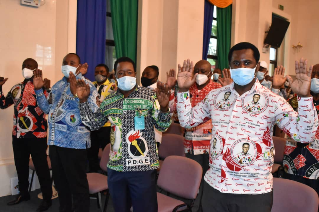 El Presidente del PDGE se reúne con las Autoridades Periféricas del partido