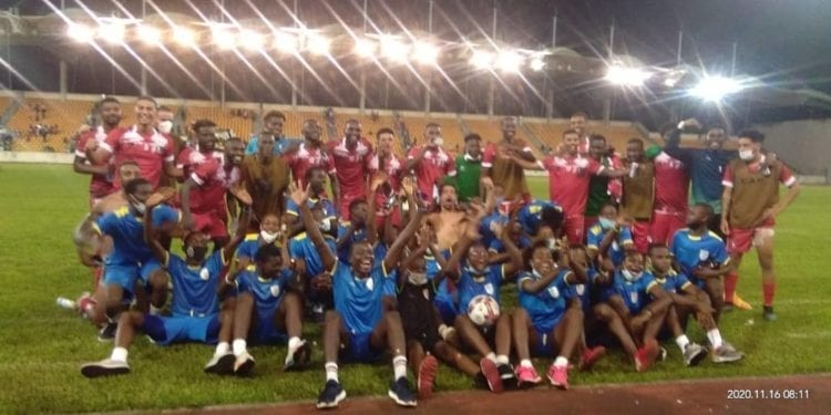 Guinea Ecuatorial gana a Libia en el partido de vuelta en el Estadio de Malabo