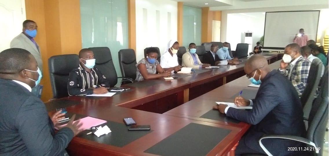 El nuevo Director de la Formación Profesional Reglada se presenta ante los representantes de los Centros Profesionales de Malabo