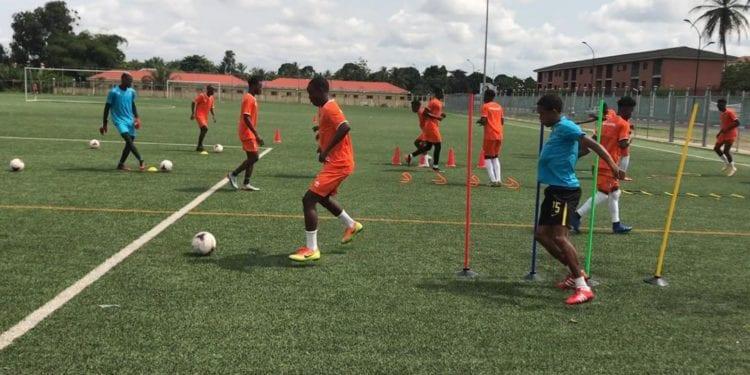 Los preseleccionados para la Sub 20 de Guinea Ecuatorial, ya estan concentrados para la Copa Uniffac