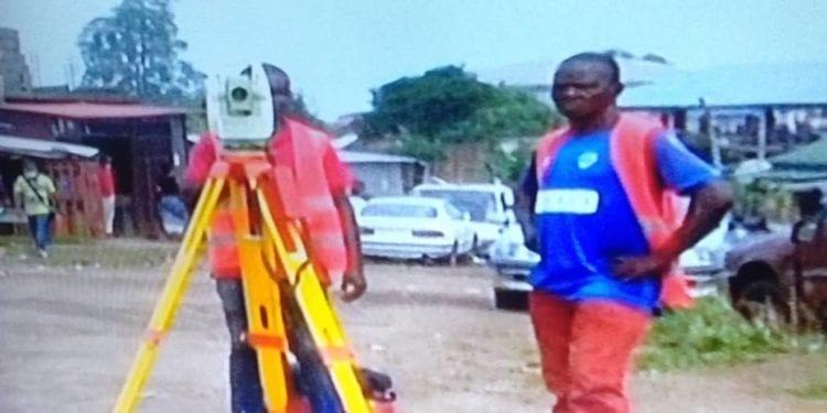 Obras Públicas retoma la construcción de las carreteras del barrio Salomé en Malabo