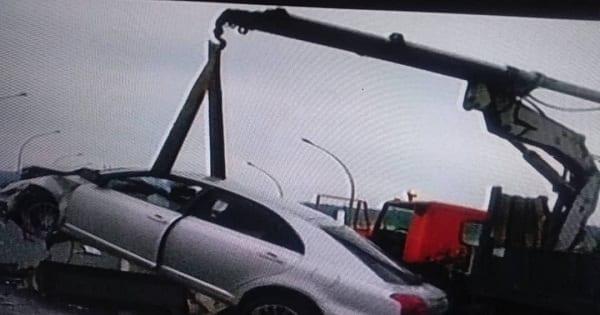 Un accidente de tráfico en la autovía, deja a un ciudadano con heridas graves