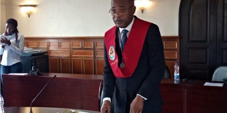 José Fernando Siale Djangani investido como académico de número por la AEGLE