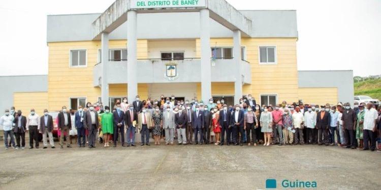 Acto de lanzamiento de la operacionalización del Distrito Sanitario en Guinea Ecuatorial