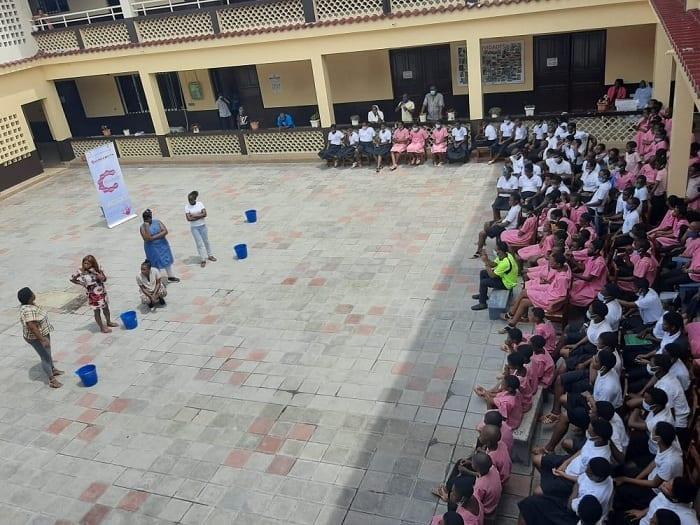 """BOCAMANDJA cierra la gira de la obra """"invisibles"""" en la Isla de Bioko"""