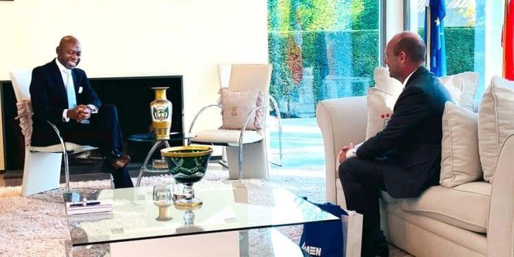 Nvono-Ncá se reúne con Damen, el conglomerado de defensa más importante de Países Bajos