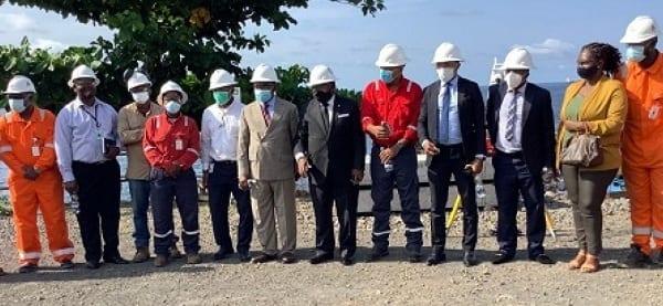 El Viceministro de Minas visita las instalaciones del nuevo gasoducto