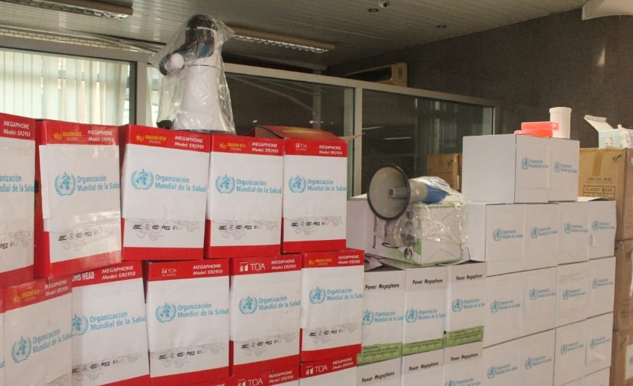 La OMS contribuye en la campaña de vacunación contra el sarampión en Guinea Ecuatorial