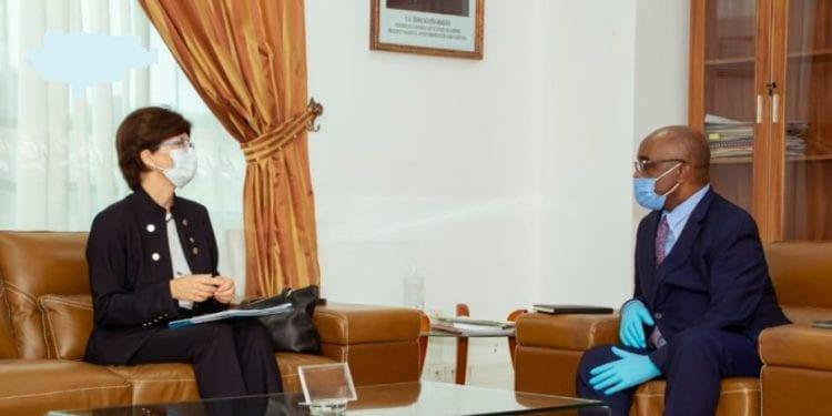 Nsue Milang concede audiencias al representante de Unicef, ONUSIDA y la embajadora de EEUU