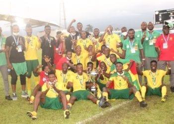 Camerún, se proclama campeón del torneo UNIFFAC en la casa del Nzalang