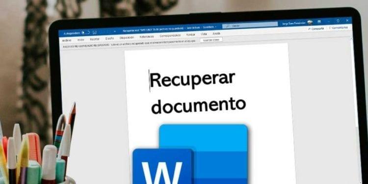 Cómo recuperar archivos de Word que has borrado accidentalmente