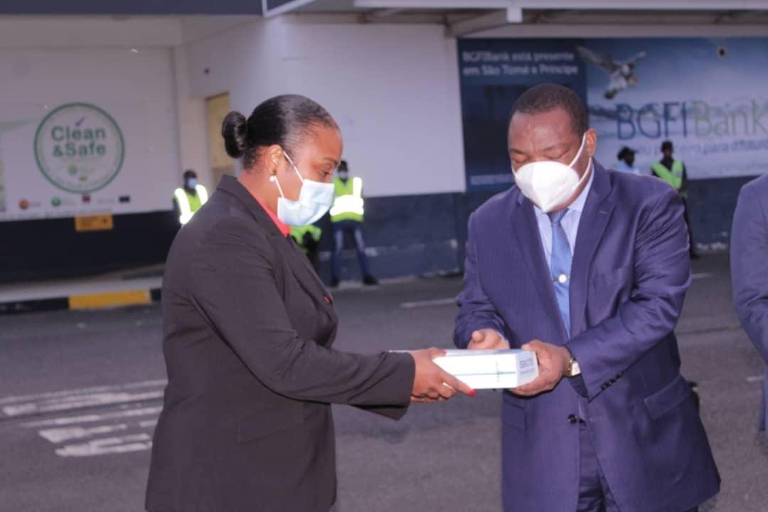 Nguema Obiang Mangue se solidariza con Sao Tomé y Príncipe en su lucha contra el Coronavirus