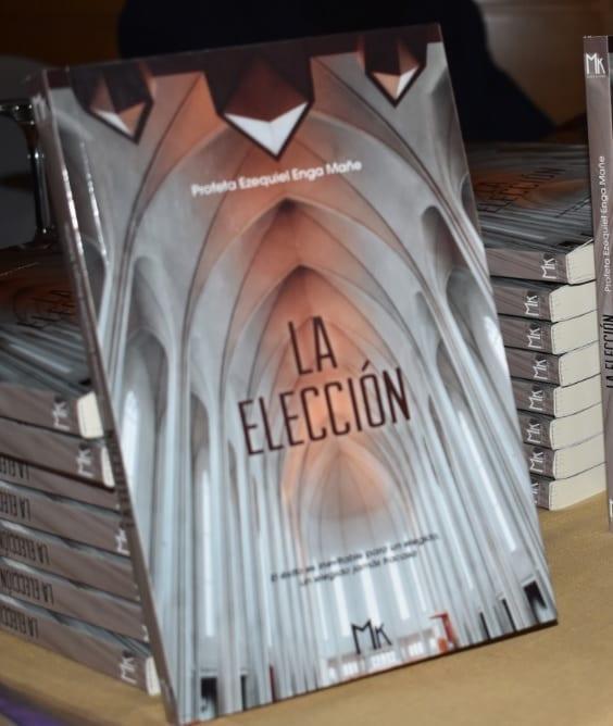 """El profeta Ezequiel saca a la luz su primer libro """"la elección"""""""