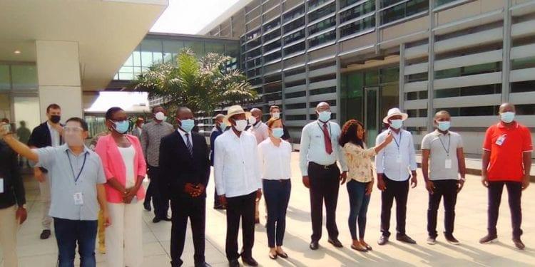 El Jefe de Estado visita el Palacio Central de Mongomo y el Instituto Tecnológico Nacional de Hidrocarburos
