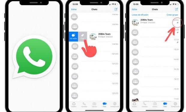 El truco de WhatsApp para abrirte un chat contigo mismo