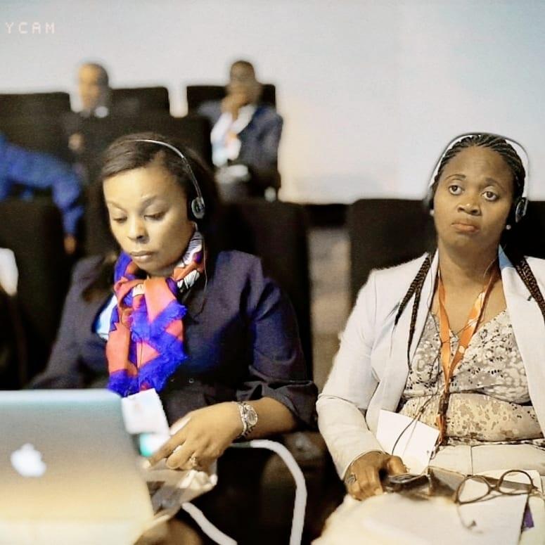 """""""Las mujeres no vinimos a este mundo para hacer sombra a las demás, ni obstaculizar el desarrollo de las demás"""": H. Julia OKENVE OBONO"""