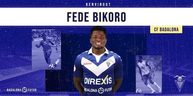 Federico Bikoro, deja el Numancia y se va cedido al Badalona, otro segunda B