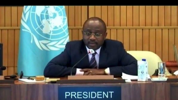 Agapito Mba pronuncia clausura la 210ª sesión del Consejo Ejecutivo de la UNESCO