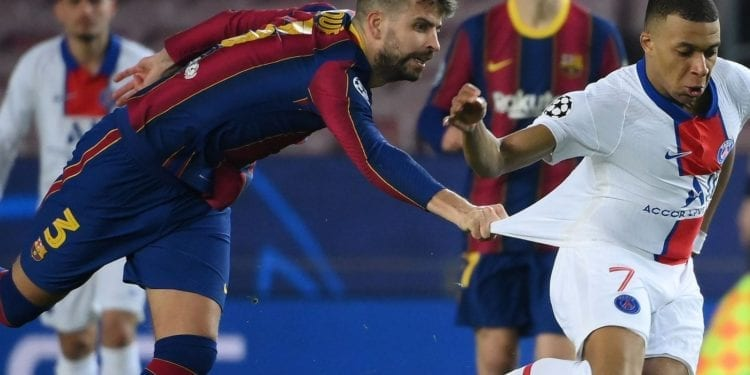 Un Mbappé-Barça por los octavos de final de la Champions League