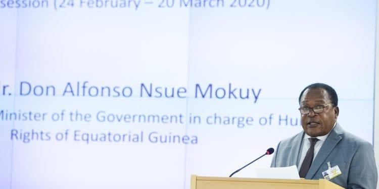 Alfonso Nsue Mokuy rinde cuentas en el 46 Periodo de Sesiones del Consejo de Derechos Humanos
