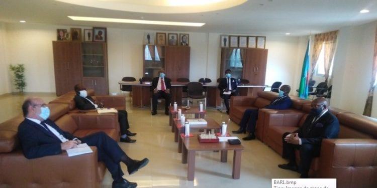 El Embajador de España, Alfonso Barnuevo visita por primera vez la Cámara de Comercio de Bioko