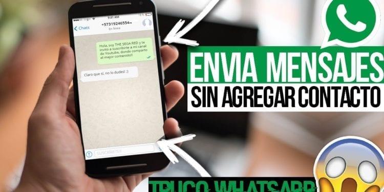 El truco de WhatsApp para poder enviar un mensaje a alguien sin tener agregado su número en tu móvil