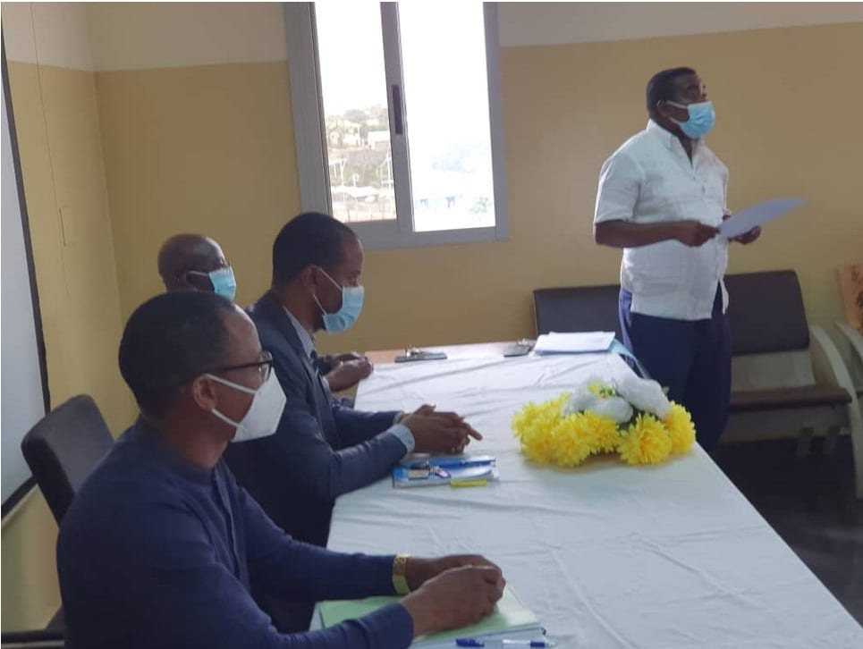 Reynolds Ondua Trillo nuevo Director Técnico del hospital Regional de Malabo