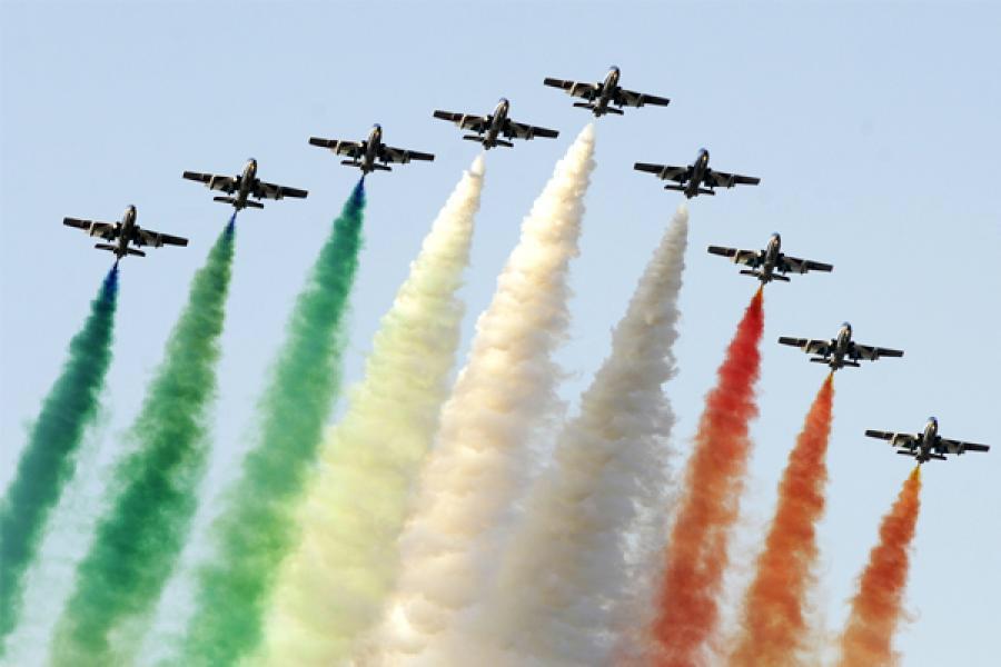 El Vicepresidente de la República asiste a la Ceremonia de inauguración del Foro Aero-India