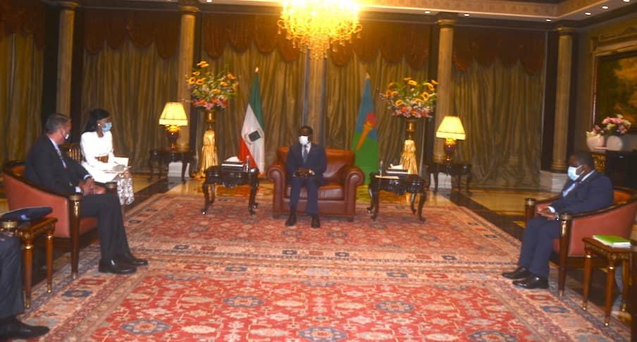 Obiang recibe a empresarios alemanes