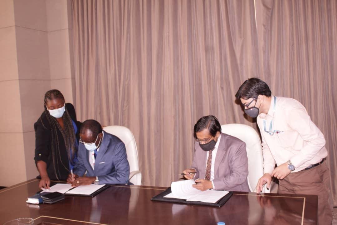 Guinea Ecuatorial firma un memorando de entendimiento con Bharat Electronics para la gestión de material bélico