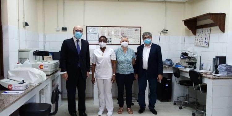 El Embajador de España visitó este miércoles el Laboratorio Castro Verde de Malabo