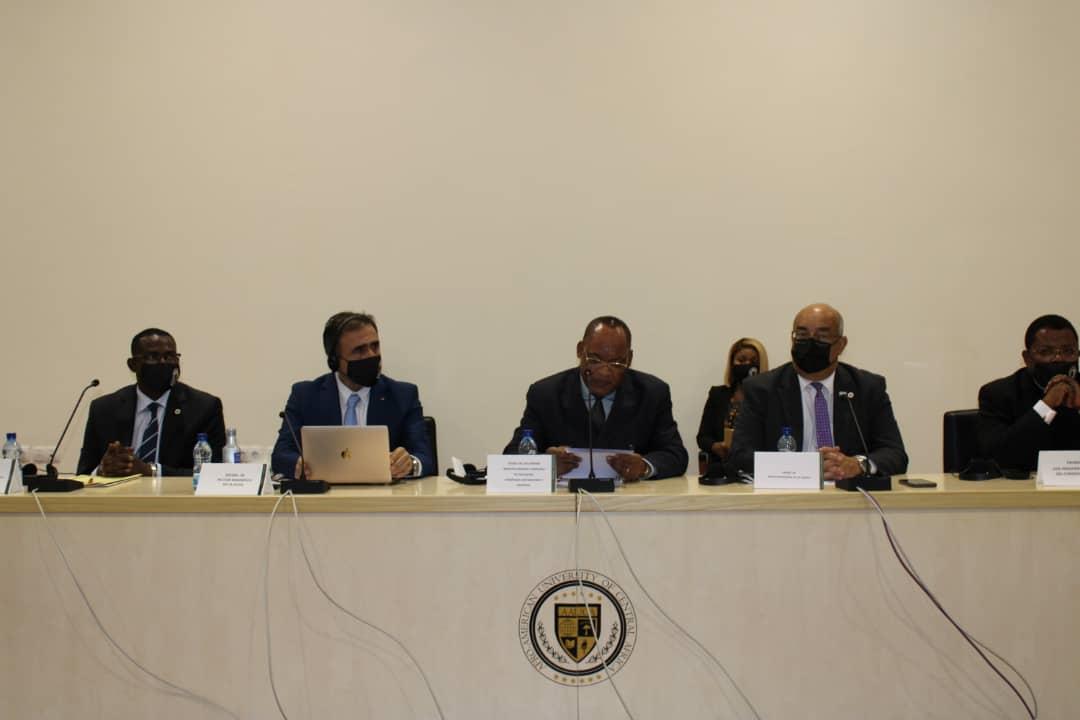La Universidad Afro-Americana de África Central AAUCA ya tiene un nuevo Rector