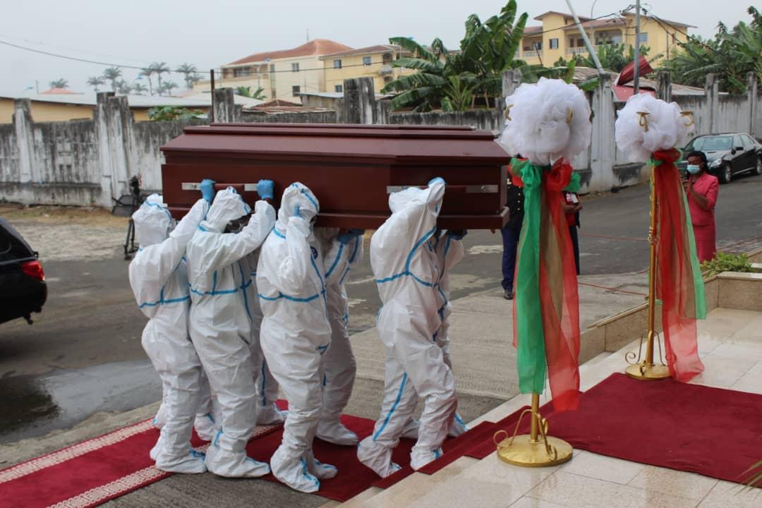 Actos fúnebres de Vicente MBA ASUMU, Jefe de Estado Mayor General