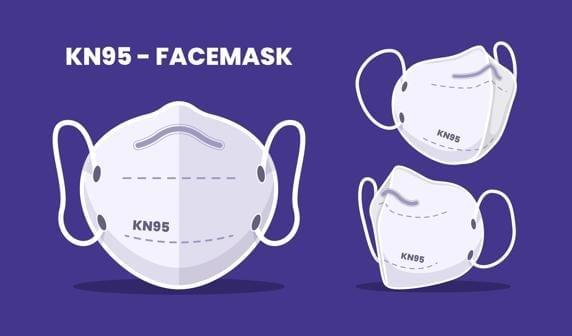 Los CDC no recomiendan el uso de las mascarillas N95.