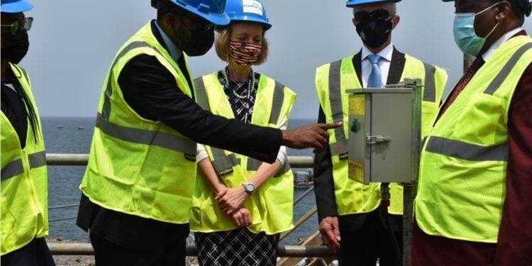 Inauguración de la primera fase del proyecto Alen Gas Hub- Backfill punta Europa