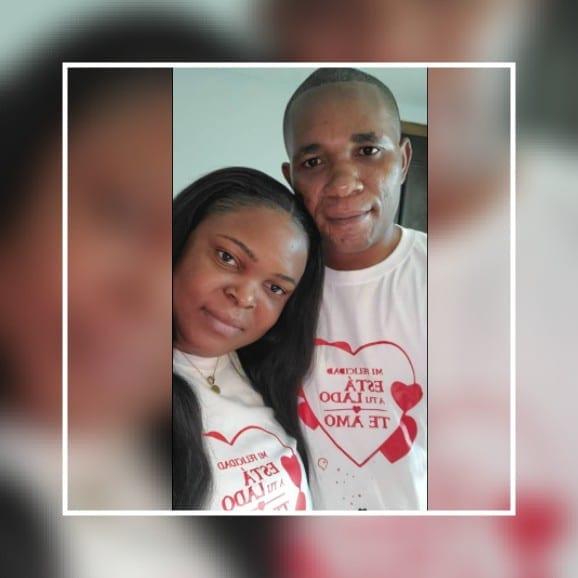 """""""El amor se fortalece dia a dia"""", Agapito y Mónica, encerados en el hotel en el dia de San Valentín"""