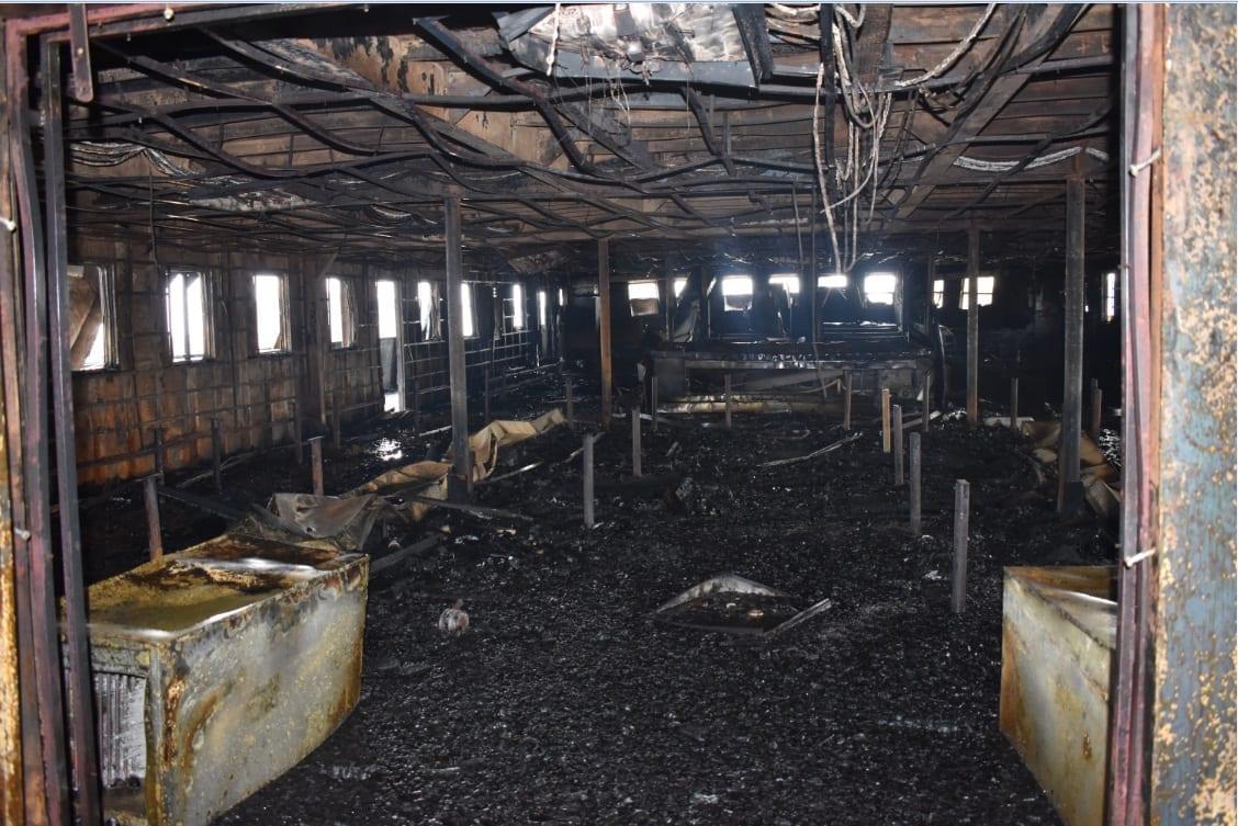 """EXCLUSIVA: La posible causa del incendio del barco """"Elobey 12"""" al detalle"""