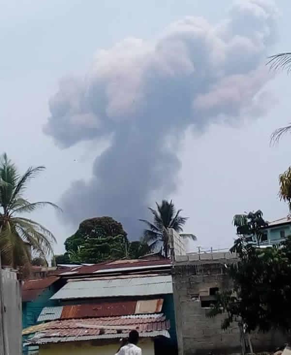 ÚLTIMA HORA: una cadena de explosiones en la ciudad de Bata deja varios heridos y daños materiales