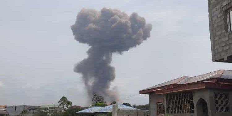 ÚLTIMA HORA: 3 explosiones causan varios daños materiales y heridos en la ciudad de Bata
