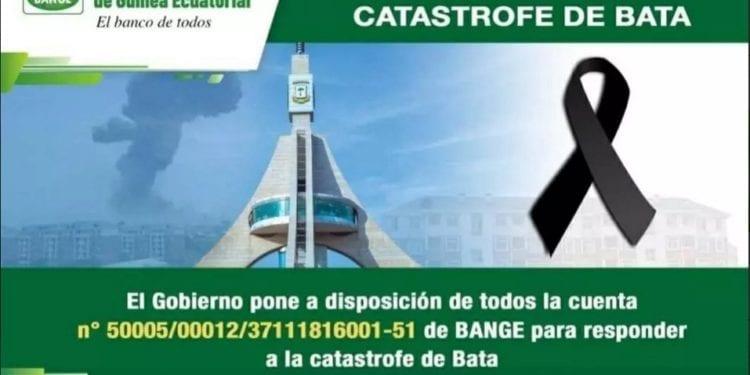 BANGE contribuye con 30 millones de FCFA a la cuenta de apoyo a las víctimas de Bata