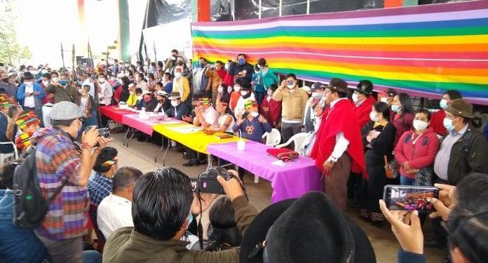 El Movimiento indígena promoverá el voto nulo en la segunda vuelta de las elecciones en Ecuador
