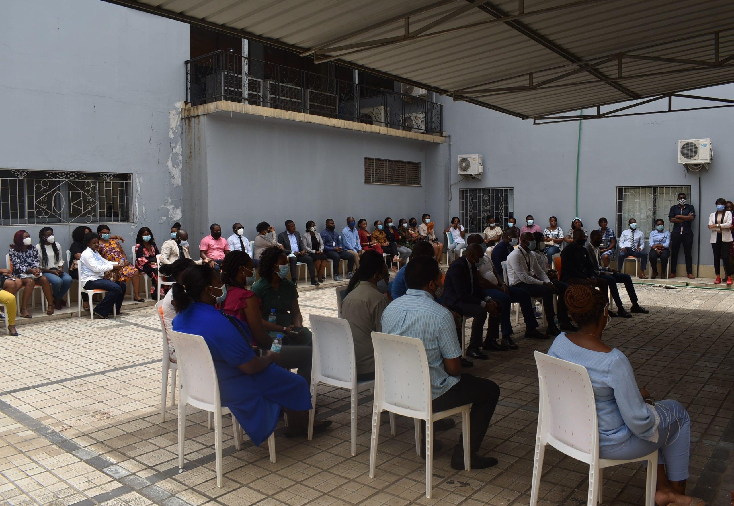 """Cruz Nguema Ela Nchama: """"quiero crear un ambiente de trabajo en el que todos se sientan importantes"""""""