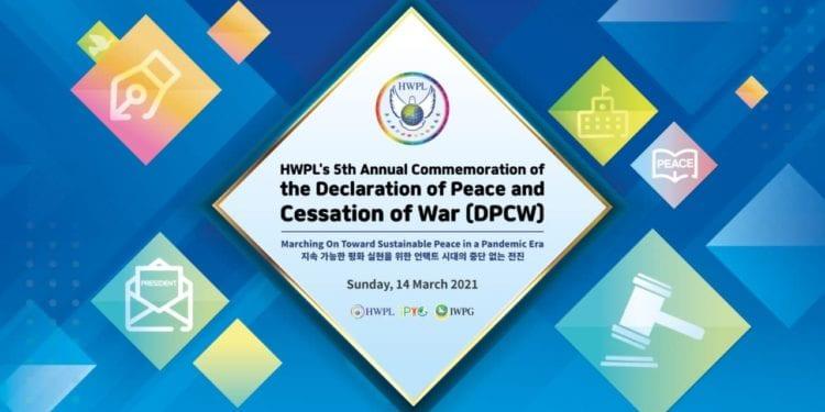 """Webinario para discutir la implementación del derecho internacional por la paz: """"Avance continuo en la era de las pandemias para lograr la paz sostenible"""""""