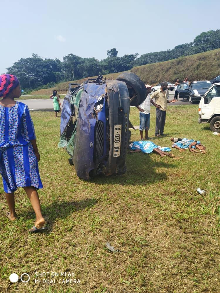ÚLTIMA HORA: al menos 3 muertos en un accidente de circulación en el poblado de Nkoa Ete
