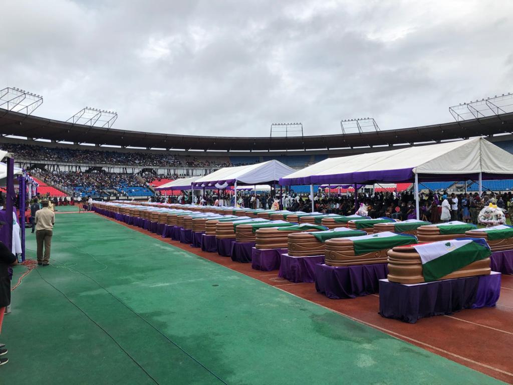 """El Presidente de la República, en el Funeral de Estado por el 7M: """"La Seguridad de nuestro Estado descansa en las manos de todos los ecuatoguineanos"""""""